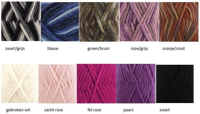 kleuropties wol